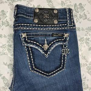 Miss me jeans sz 28 x 33.5 boot